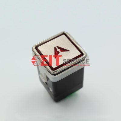Модуль кнопочный GreenTech AK-12 Квадратная кнопка 30х30мм