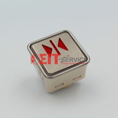 Кнопочный модуль AK-2 для лифтов MITSUBISHI, Fujitec Квадратная 34х34мм