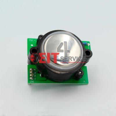 Модуль кнопочный GreenTech AK-3 Круглая кнопка D=40мм