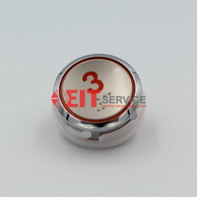 Модуль кнопочный GreenTech AK-31 Круглая кнопка D=36мм