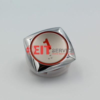 Модуль кнопочный GreenTech AK-32 Круглая кнопка D=33,5мм