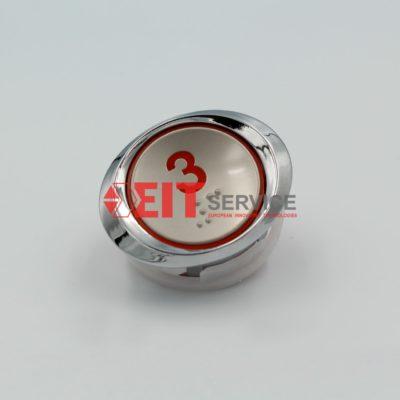 Модуль кнопочный GreenTech AK-33 Круглая кнопка D=33,5мм
