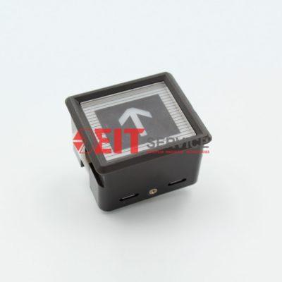 Модуль кнопочный ThyssenKrupp CS-41-GG Прямоугольная кнопка 34х32мм