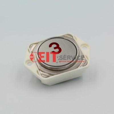 Модуль кнопочный GreenTech SLB-33 Круглая кнопка D=28мм
